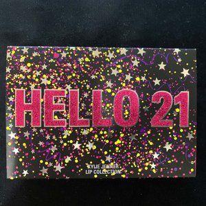 Kylie HELLO 21 Collection Velvet Liquid Lip Set